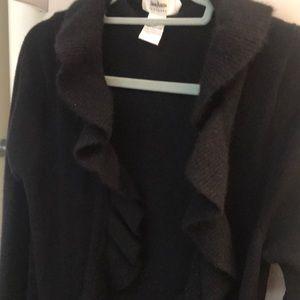 Long cashmere cardigan Neiman Marcus